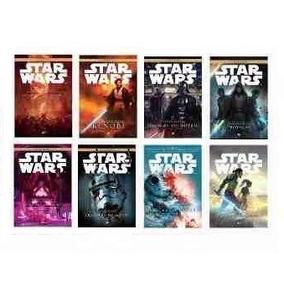 Coleção Star Wars 8 Livros Lacrados Guerra Nas Estrelas