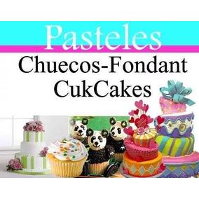 Manual Decoracion Tortas Pasteles Chuecos Fondant Gelatinas