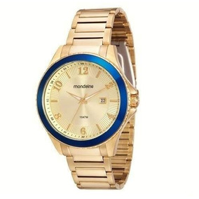 b66c5a1d1b9 Relógio Feminino Analógico Mondaine 76299lpmfdm1 Dourado Masculinos ...