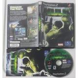 Hulk * Marvel / Playstation 2 Ps2