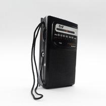 Rádio Portátil Am/fm A Pilha - Torcedor Analogico Antigo