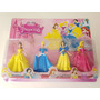 Bonecas Bella Cinderella Branca De Neve Aurora 12 Cm Enfeite