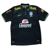 Camisa Seleção Brasil Brasileira Treino Tite Camiseta Polo