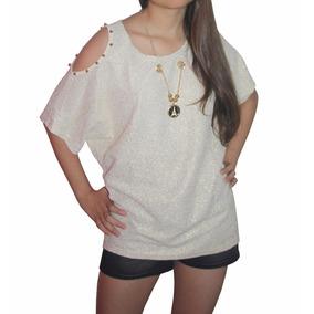 Bl1223 Blusa Dorada Con Collar - It Girls Colombia