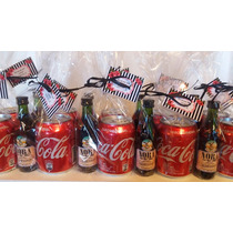 Souvenirs 30, 40, 50..años Mujer Mini Fernet + Coca