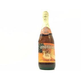Antigua Botella Llena Anana Fizz Real Contenido Neto 720cm3