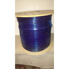 Bobina Cable Coaxil Rg6 305mt Trishield Tensor