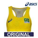 Top Vôlei Praia Oficial Seleção Brasileira - Original Asics 44cdc81639587