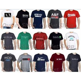 Kit De Camisas Masculina Hollister Armani Hurley Nike Oakley