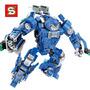 Lego Homem De Ferro Hulk Buster Mk38 540 Peças Coleção Br44