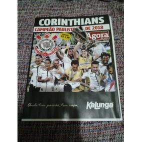 Revista Pôster Corinthians Campeão Paulista 2018 Agora Sp