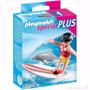 Playmobil Special Plus 5372 Niña Con Tabla Surf Mundo Manias