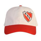 Gorra Escudo Bordado Lateral Club Atlético Independiente