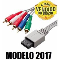 Cabo Vídeo Componente - 720p/1080i - Flat Hd - Nintendo Wii