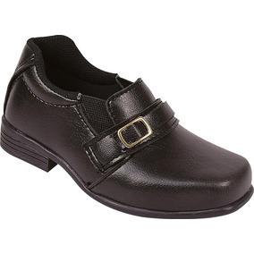 Sapato Social Infantil Masculino Raniel 20 Ao 27 Ref.205-09