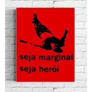 Quadro Poster Helio Oiticica   Impresso Em Canvas 30x40cm
