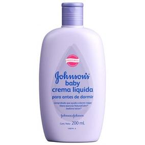 Johnsons Baby Crema Liquida Para Dormir 200 Ml