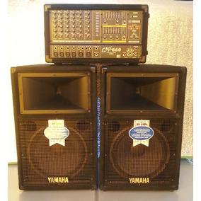 Profesional Amplificador Mixer Yamaha Emx660+2 Bajos 600w