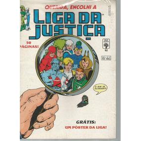 Liga Da Justica 52 1ª Serie - Abril - Bonellihq Cx268 D18