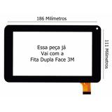 Tela De Vidro Touch Tablet Tablet U-tech U-tab 8gb Com 3m