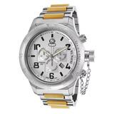 Relógio Invicta 15472 Russian Diver Gold Prata Novo Ref1620