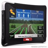 Gps Automotivo Guia 4 Rodas Tela Touch 4.3 Pol Tv Mp3 Usb Sd