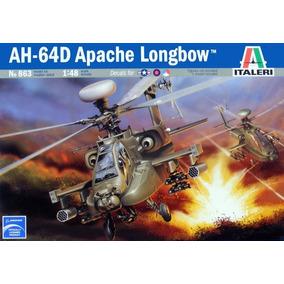 Helicoptero Ah-64 D Apache Longbow Italeri 1/48