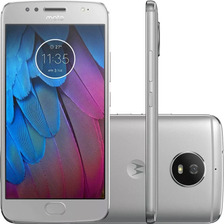 Celular Motorola Moto G5s Xt1792 Prata Tela 5.2'' Dual Chip
