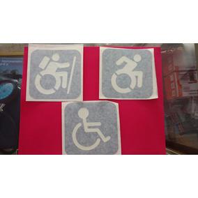 Sticker Vinil Símbolo Discapacidad