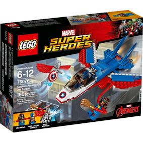 Lego® Super Heroes Jet Del Capitán América (76076)