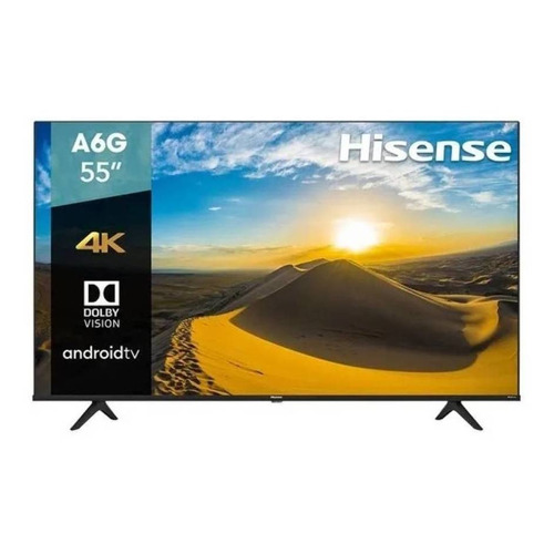 "Smart TV Hisense A6 Series 55A6G LED 4K 55"" 120V"