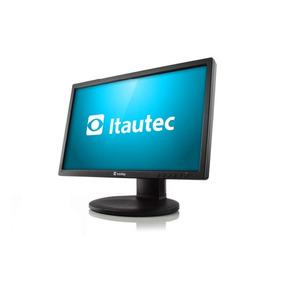 Monitor Lcd Widescreen 20 Itautec E2011 Promoção Barato