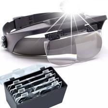 Lupa Cabeça Led Profissional Estetica Eletronica Dentista