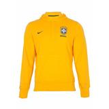 Blusa Moleton Seleçao Brasileira Futebol Copa Do Mundo Top