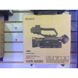 Video Camara Sony Hxr-nx80 Full Hd Nuevo Sellado En Caja