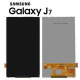 Tela Cristal Display Samsung Galaxy J7 J700m/ds Só O Display