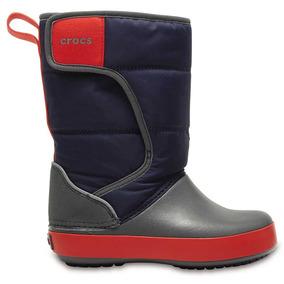 Crocs Originales Lodgept Snowboots K Azul Niños 4he