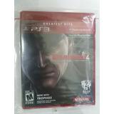 Juego Ps3 Original Metal Gear 4, Nuevo Sellado