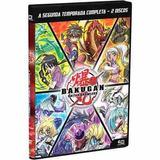 Dvd Novo Lacrado Fantastico Bakugan 2ª Temporada Completa