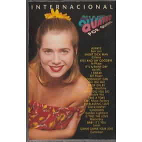 Fita Cassete K7 Novela Quatro Por Quatro Internacional 1995
