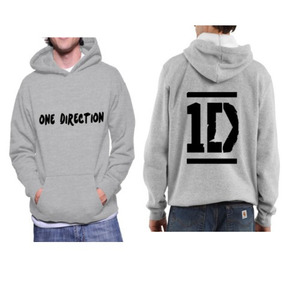 Blusa Moletom One Direction Casaco Moleton Canguru