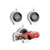 Kit De Velas Cars Silver - Carros