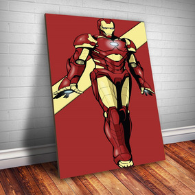 Placa Decorativa Homem De Ferro 1