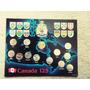 Coleccion De Monedas 125 Aniversario De Canadá. 23