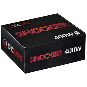 Fonte 400 Watts Real Shocker Series Pfc Ativo 80 Plus White