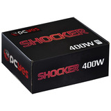 Fonte 400 Watts Real Shocker Series Pfc Ativo 80 Plus White