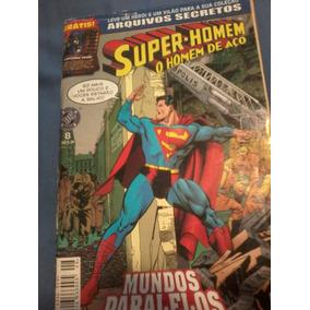 Super-homem Hq 1999 Arquivos Secretos 8 Mundos Paralelos