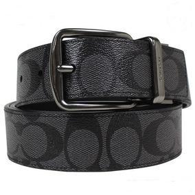 Cinturon Coach Original Cinto Piel Reversible Cuero