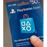 Tarjeta De Recarga Playstation Network Usd $50