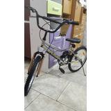 Bicicleta R 20 Freestyle Cromada Futura San Miguel Envio S/c